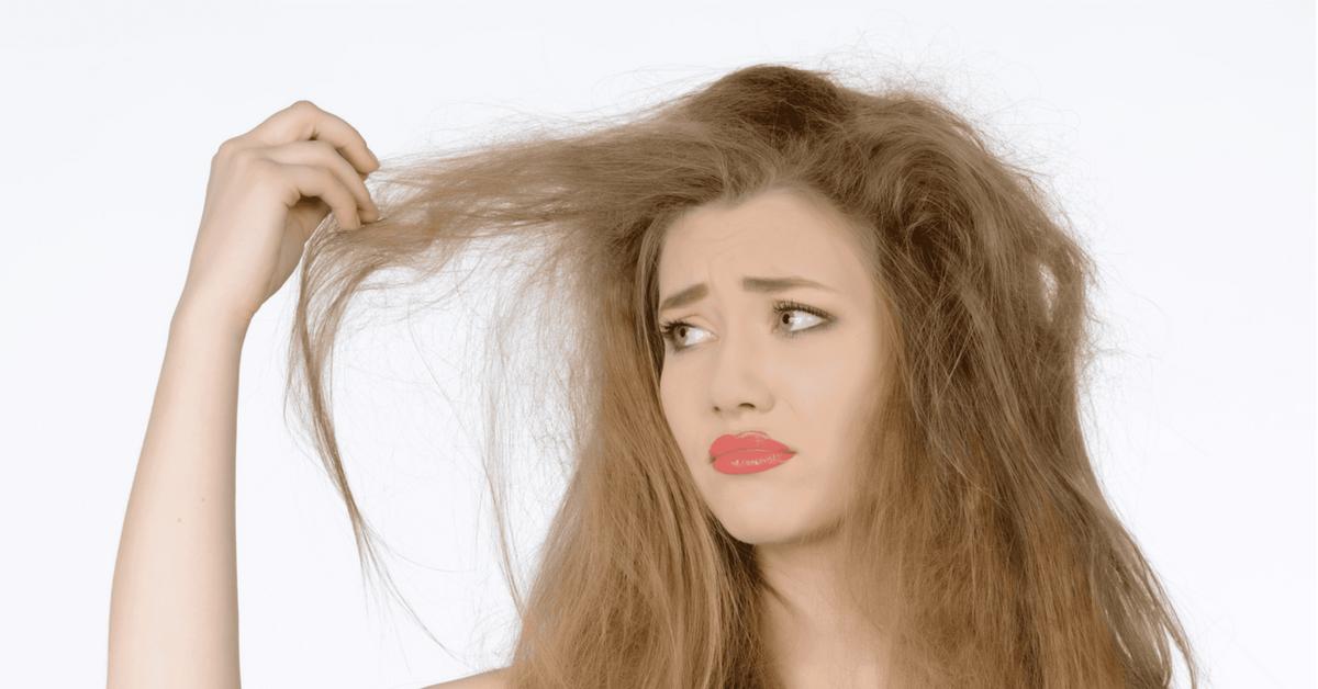 cabello débil