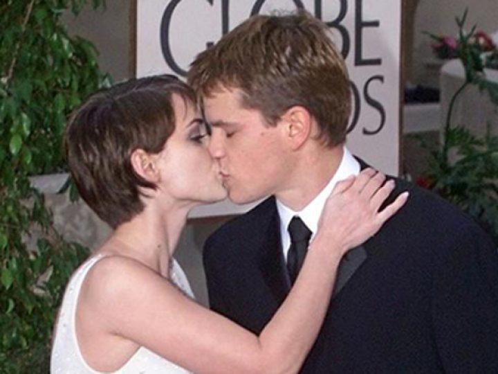 Winona Ryder y Matt Damon