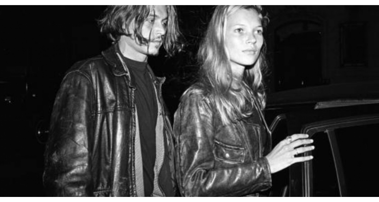 Kate Moss y Johnny Depp