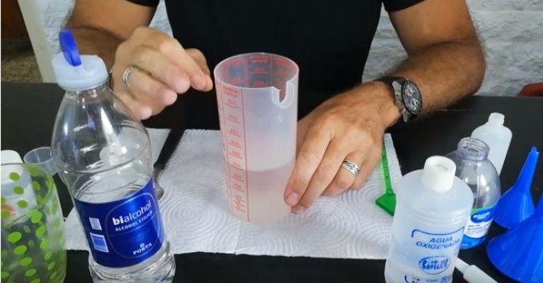 ingredientes gel desinfectante